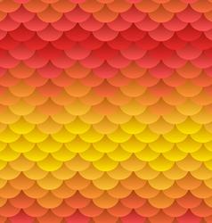 Autumn warm blobs seamless background vector