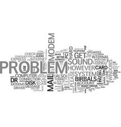 Basic problem in a pc text word cloud concept vector