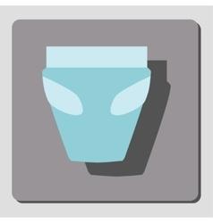 Diaper vector image