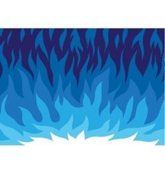 gas flame - cartoon vector image vector image