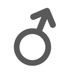 male gender symbol icon simple vector image