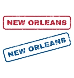New orleans rubber stamps vector