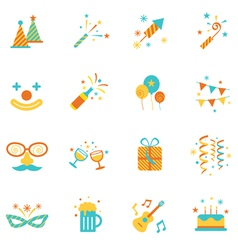 Party Objects and Icons Set vector image vector image