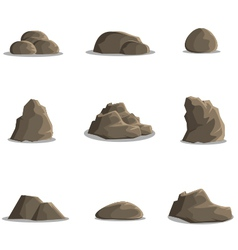 Rock Collection vector image