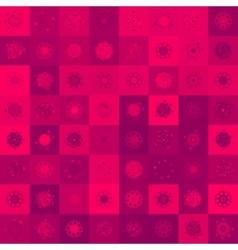 Christmas deer seamless  EPS 8 vector image