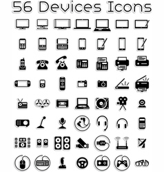 Electronic Devices Icons vector image