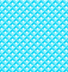 Blue Diamond Pattern vector image vector image