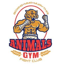Logo animals color vector