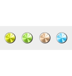 Volume button All by layers vector image vector image