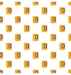 Washer pattern cartoon style vector