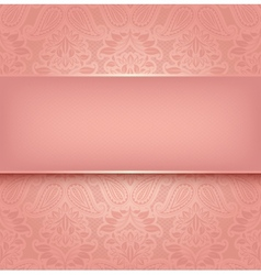 Decorative pink template - 10eps vector image