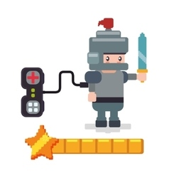 Avatar knight controller gamepad favorite vector