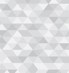 Silver abstract triangle pattern vector