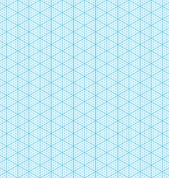 Seamless isometric graph paper vector