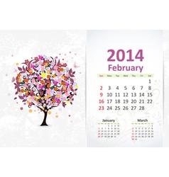 Calendar 2014 3 02 vector