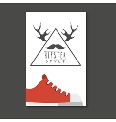 element classic hipster style vector image vector image