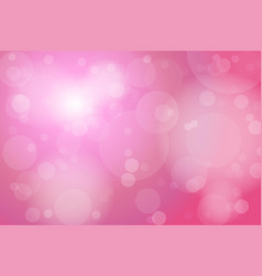 pink bokeh abstract background vector image