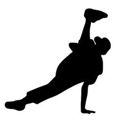 streetdancer vector image vector image