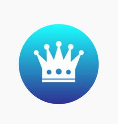 Crown icon regal monarch sign vector