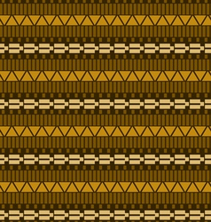 Geometric ethnic seamless pattern vector