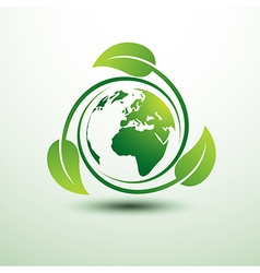 green earth2 vector image