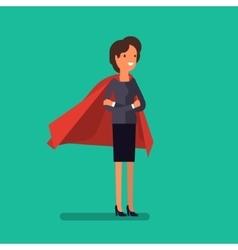 Super woman business concept vector