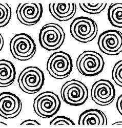 spiral twirl pattern seamless vector image