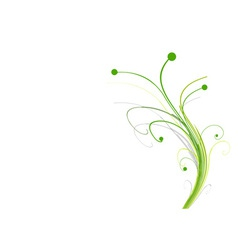 abstract floral vector image