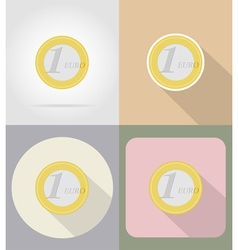 Business and finance flat icons 06 vector