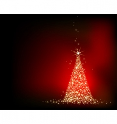 Christmas fir background vector image