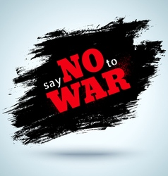 no war abstract vector image