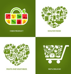 OrganicSet vector image vector image