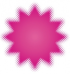 purple star vector image vector image