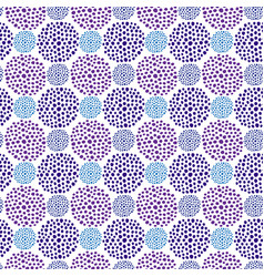 ultraviolet dots seamless pattern repeating vector image vector image