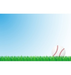 sports grass field 05 vector image