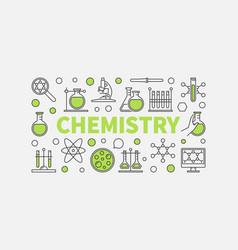 Modern chemistry vector