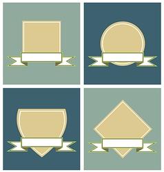 Label Frames vector image
