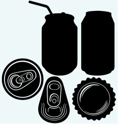 Bottle cap beer vector