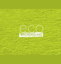 Organic nature eco friendly background vector