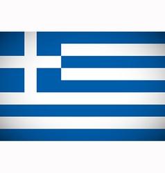 National flag of Greece vector image