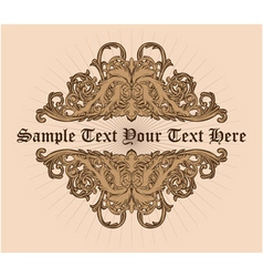 Text Label vector image