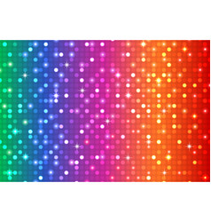 abstract rainbow color background vector image vector image