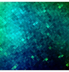 Blue glitters on a soft blurred background EPS 10 vector image