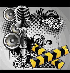 music urban vector image vector image