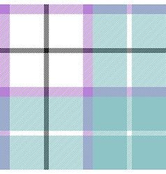 Soft warm plaid baby color seamless pattern fabric vector