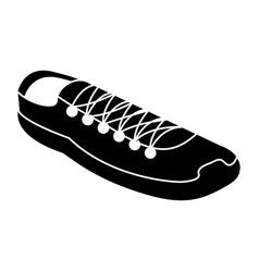 sport shoes isolated icon vector image