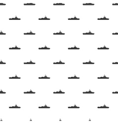 Military navy ship pattern simple style vector