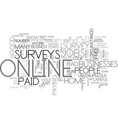a closer look at work from home text word cloud vector image vector image