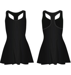 black women dress vector image
