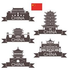 China vector
